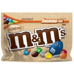 M&M'S Almond Chocolate Candy Sharing Size Bag, (9.3 oz)  M&MS Bigger Bag of American M & Ms