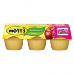 Mott's Apple Sauce Original 6 Cup - 4 oz (113g) Motts