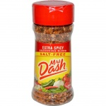 Mrs Dash Extra Spicy Seasoning Blend (2.5oz)  71g Salt Free