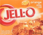 Jell-o Orange Gelatin Dessert Jelly 85g (3oz) 2 pack