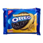 Oreo Cookies - Peanut Butter  Chocolate Sandwich Cookies 432g