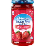 Polaner Sugar Free with fiber Strawberry Preserves (383g) (13.5oz)