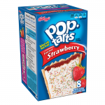 Kellog's Pop-Tarts Frosted Strawberry toaster pastries 416g Pop Tarts
