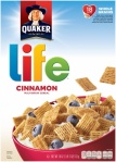 Quaker Life Cinnamon Cereal American Cereal 13oz 370g