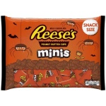 Reese's Mini Peanut Butter Cups  Minis Snack Size Bag 277g Reeses HALLOWEEN CANDY