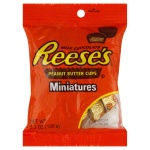 Reese's Peanut Butter Cups Miniatures 5.3oz 150g Reeses