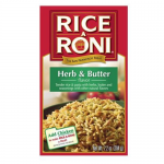 Rice A Roni Herb & Butter flavour (7.2oz) 204g