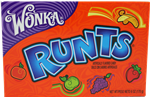 Wonka Runts American Candy 5oz 141.7g Theater Box.