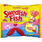 Swedish Fish 25 Treat Size Bags 375g