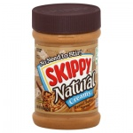 Skippy Natural Creamy Peanut Butter Spread 15oz 425g