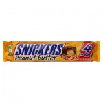 Snickers Peanut Butter 4 To Go Candy Bars 3.56 oz