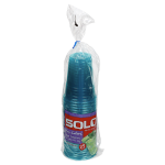 Solo Ultra Colors Plastic Cups 16oz 24 Count