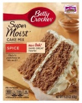 Betty Crocker Super Moist Spice Cake Mix 15.25oz 432g - 12 Packs CASE BUY