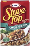 Kraft Stove Top Savory Herbs Stuffing Mix 170g