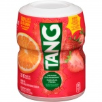 Tang ORANGE STRAWBERRY Drink Mix MAKES 6 QUARTS 510g 18oz TUB