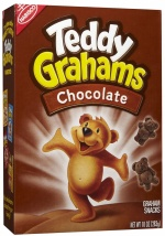Teddy Grahams Chocolate Cookies 10oz 283g