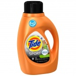 Tide Plus Febreze Sport Active Fresh Scent Liquid Laundry Detergent,  44 Loads, 69fl