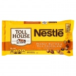 Nestle Toll House Peanut Butter & Milk Chocolate Morsels 11oz 311g