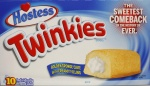 Hostess Twinkies Box of 10 Individually Wrapped Cakes