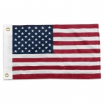 American US Flag 12 x 18in Superknit Polyester Best Quality