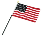 American Flag 6'' x 9'' USA Stick Flag Best Quality