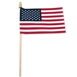 USA Stick Flag 4'' x 6'' Standard