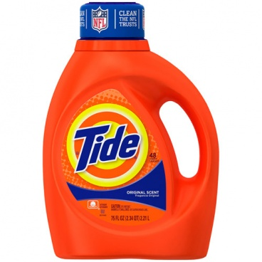 Tide Liquid Laundry Detergent, Original Scent,  (75 fl oz)