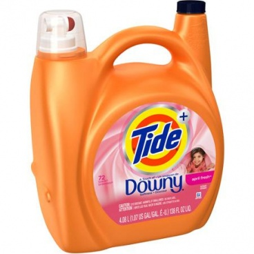 Tide High Efficiency Plus a Touch of Downy April Fresh Liquid Laundry Detergent,138 fl oz  89 Loads