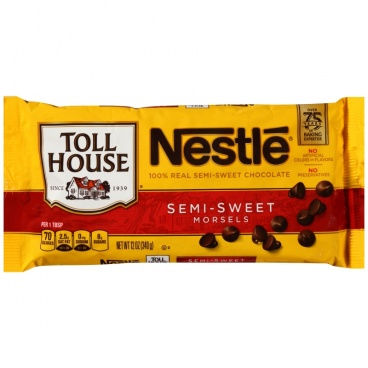 Nestle Toll House Semi Sweet Morsels 12oz 340g