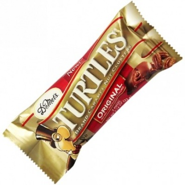 Demet's Turtles Original Pecans/chocolate/caramel Bars 1.16 oz -Turtles 2 -pieces Bars