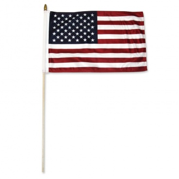 Super Tough US 12'' x 18'' Stick Flag