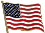 American Flag Lapel Pin USA Flag Pin