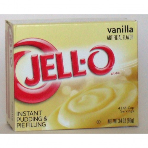 Jell-o Vanilla Pudding & Pie ( 2 Packs)