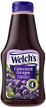 Welchs Grape Jelly Squeezable 567g Welch's Case Buy 12 Bottles